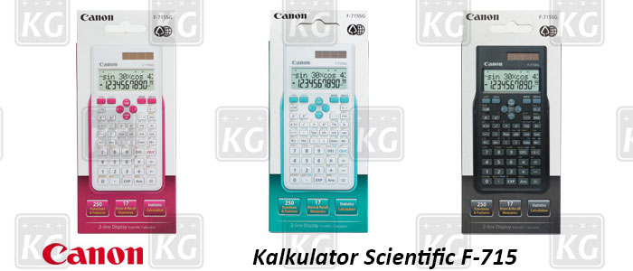 Kemasan Kalkulator Scientific Canon F-715