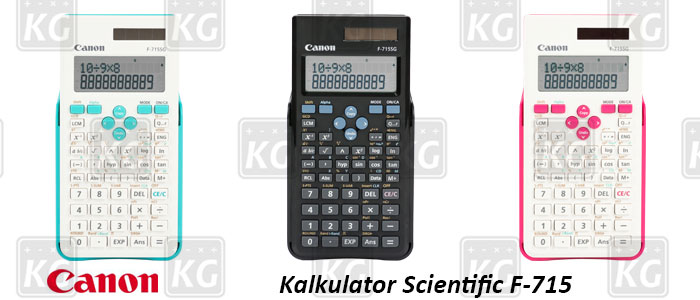 Variasi Warna Kalkulator Scientific Canon F-715