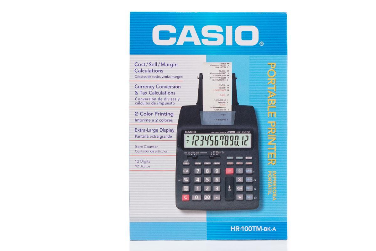 Casio Hr 100tm Printing Calculator Hitam Update Daftar Harga Dc 12m Free Ziegel Scissors Comfort 12cm Kalkulator