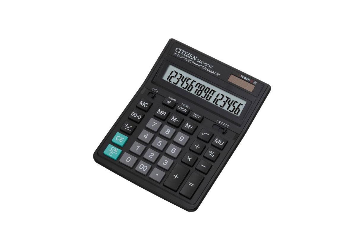 Kalkulator Citizen SDC - 664S