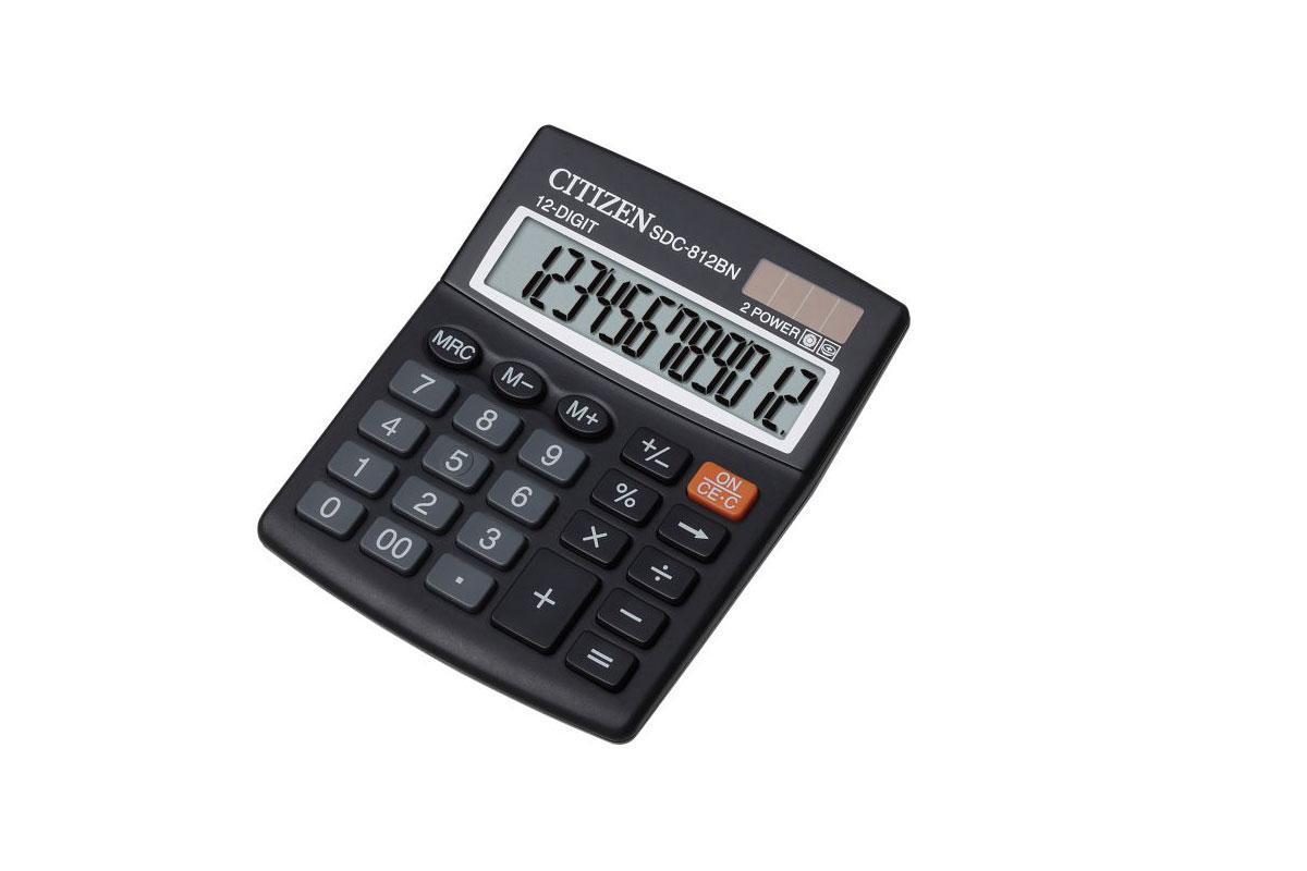 Kalkulator Citizen SDC - 812BN