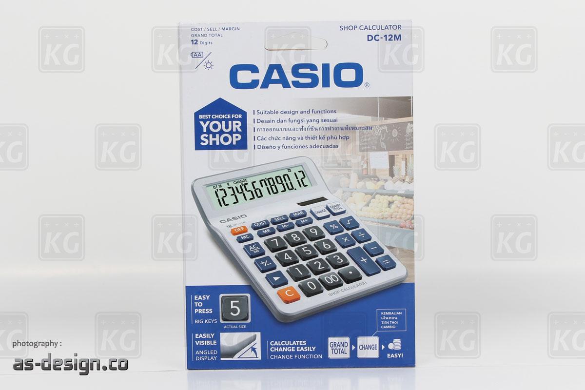 Casio Kalkulator Dc 12m 12 Digits Shop Calculator Daftar Harga Free Ziegel Scissors Comfort 12cm Packing