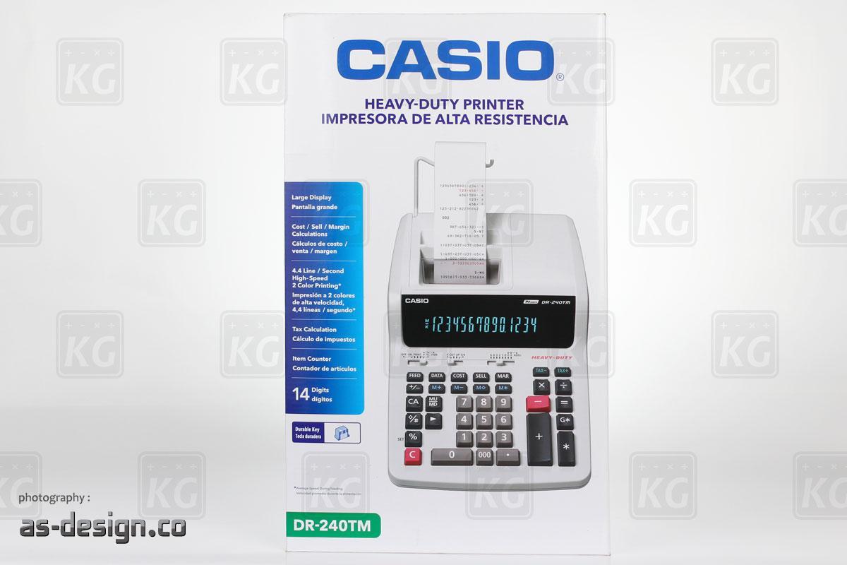 Kalkulator Printing Casio DR 240TM Packing