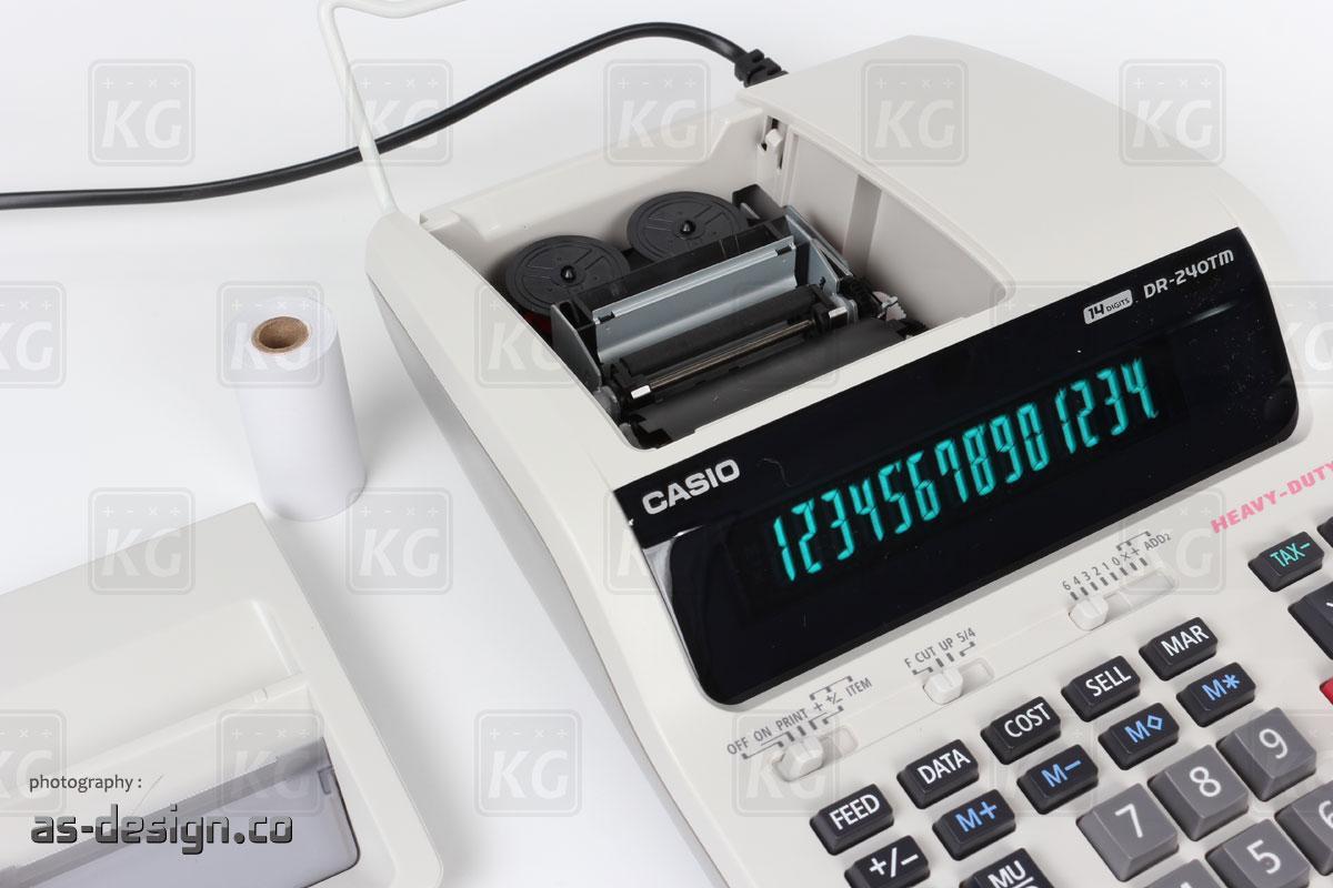 Casio Tinta Kalkulator Printing Casio DR 240TM