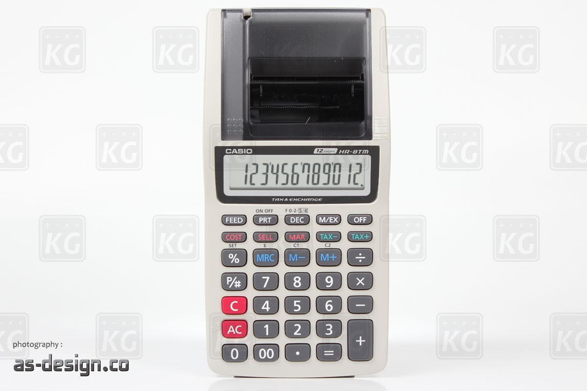 Jual Casio Hr 8tm Printable Di Kalkulator Grosir Portable Printer 8 Tm Dari Abu