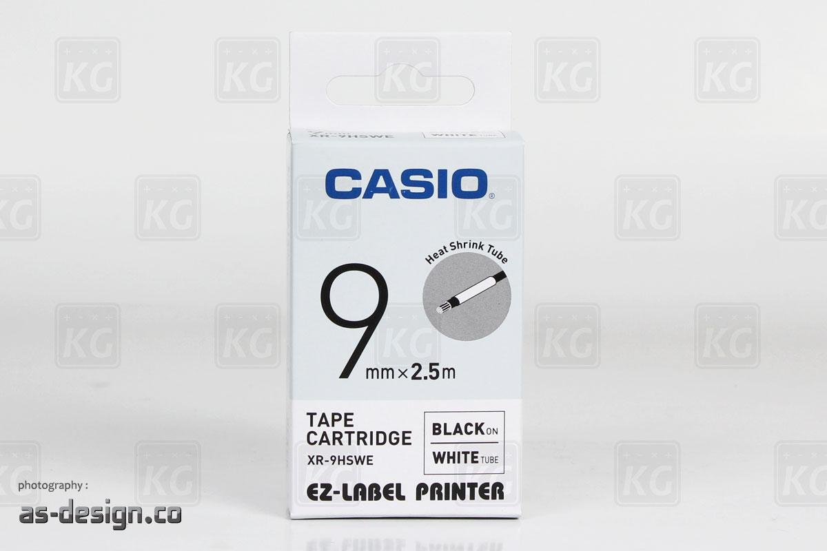 Pita Label Casio Putih XR - 9HSWE