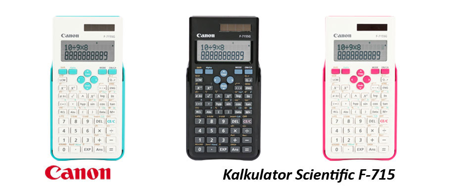Review Kalkulator Scientific Canon F-715